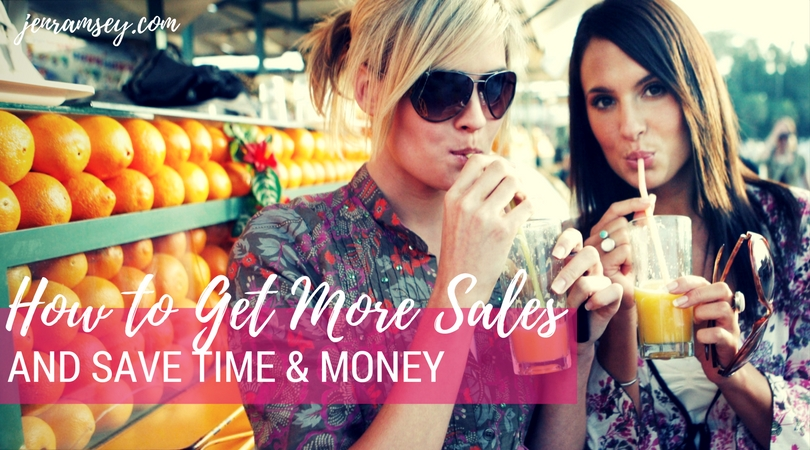 How to Get More Sales and Save Precious Marketing Time and Money