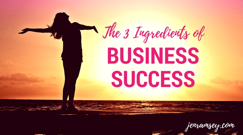 The 3 Ingredients of Conscious Business Success