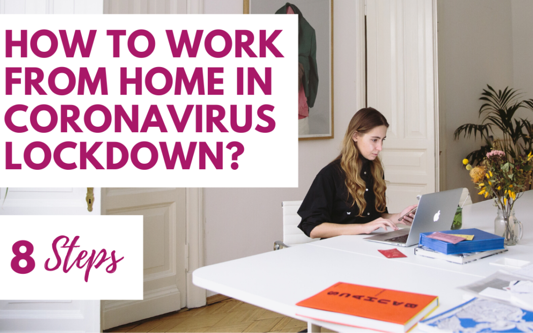 Walk Past the Washing – How to Work From Home In Coronavirus Lockdown? An 8 Step Guide