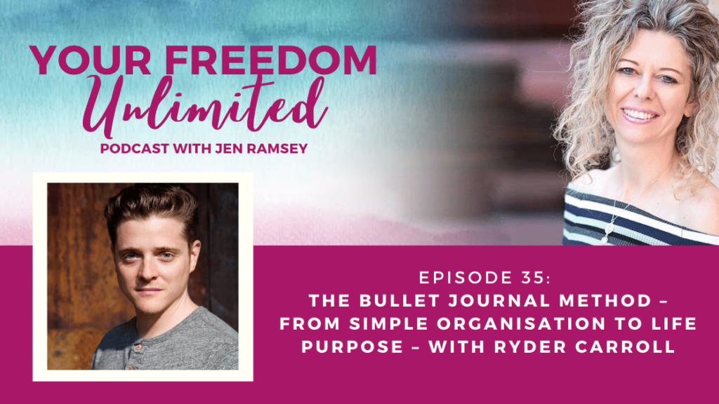 The Bullet Journal Method – from Simple Organisation to Life Purpose – with Ryder Carroll