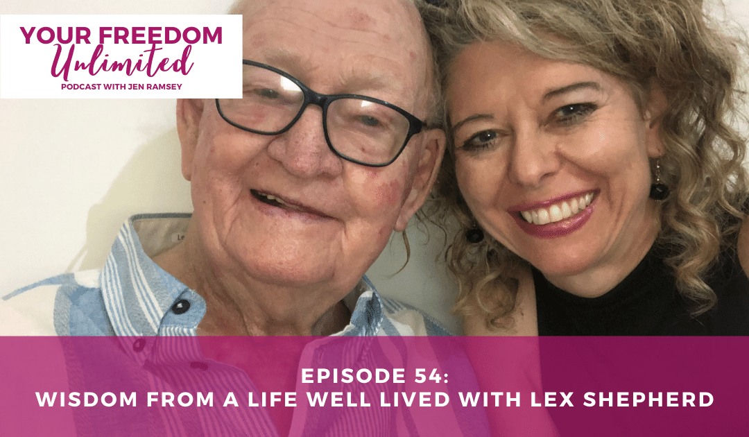 54: Wisdom from a Life Well Lived with Lex Shepherd