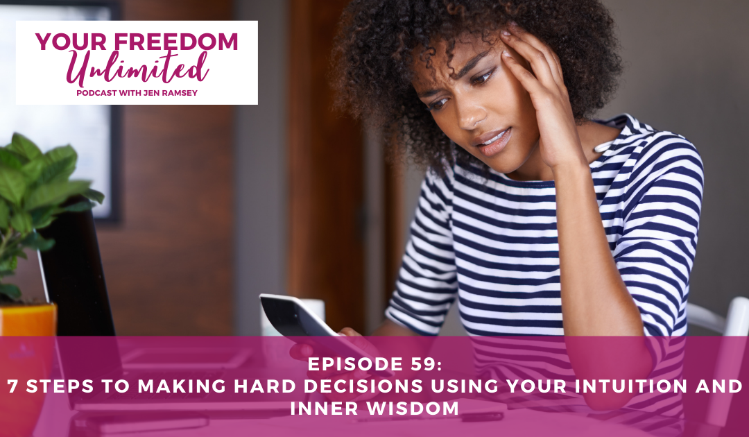 59: 7 Steps to Make Hard Decisions Using Your Intuition and Inner Wisdom